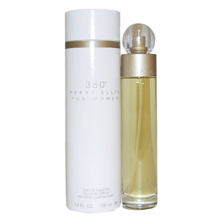 Perry Ellis 360 Degrees Eau de Toilette for Women100ml