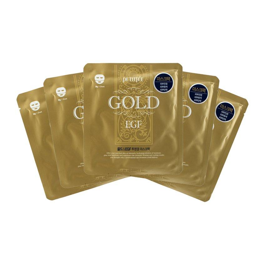 Petitfèe Gold EGF Mask 5-Piece Pack - thumbnail