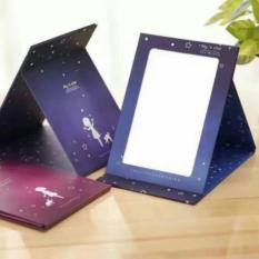 Phoebes Korean Foldable portable desktop mirror (Blue Star) Philippines