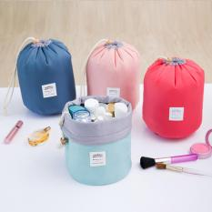 2 Pieces 1023 Korean String Style Travel Beauty Cosmetic Bag Girl Fashion Multi-function Make up Makeup Bag Pouch Toiletry Case (With Mini Pouch) Philippines