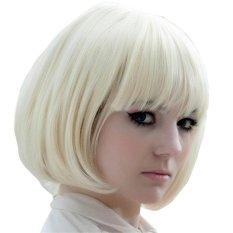 PLATIM Ladies' Cosplay Fluffy Short Straight Bob Hair Extensions Wig Formasquerade Party Halloween Christmas