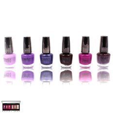 Pop Art Margarita Nail Polish Set Of 6 (214-1-C) By Pop Art Beauty Shop.