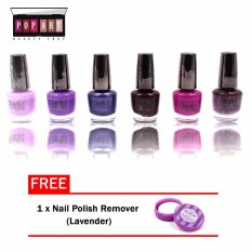 Pop Art Margarita Nail Polish Set of 6 (#214-1-C) Philippines