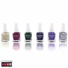 Pop Art Sabrina Sand Effect Nail Polish Set of 6 (#176-1) Philippines
