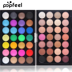 Popfeel Matte Eyeshadow 28 Colors Pallete Makeup Palette Too Faced Pallet Make Up Palette Glitter Naked Eye Shadow 01 - intl Philippines