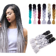 Popular Colorful Kanekalon Synthetic Braiding Hair Extension Afro Twist Braids - Intl By Saista Store.