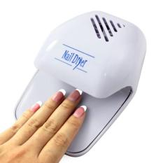 Portable Hand Finger Toe Nail Art Polish Paints Dryer Blower Mini Tool - intl Philippines
