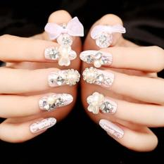Press On 3D fake Nails 24pcs/set Philippines