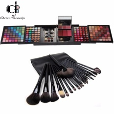 Pro 177 Color Eyeshadow Palette Blush Lip Gloss Beauty Makeup Cosmetic Set Kit with  24pcs Brush (Black) Philippines