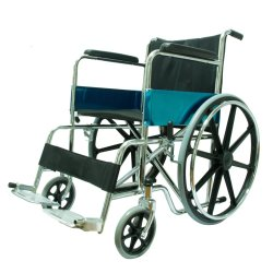 Procare Heavy Duty Wheelchair with Mag Wheels (Black)