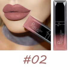 PUDAIER Waterproof batom Velvet Liquid Lipstick Sexy Red Lip Tint 21Color lip balm makeup Long Lasting Matte Nude Gloss Lipgloss 02 color - intl Philippines