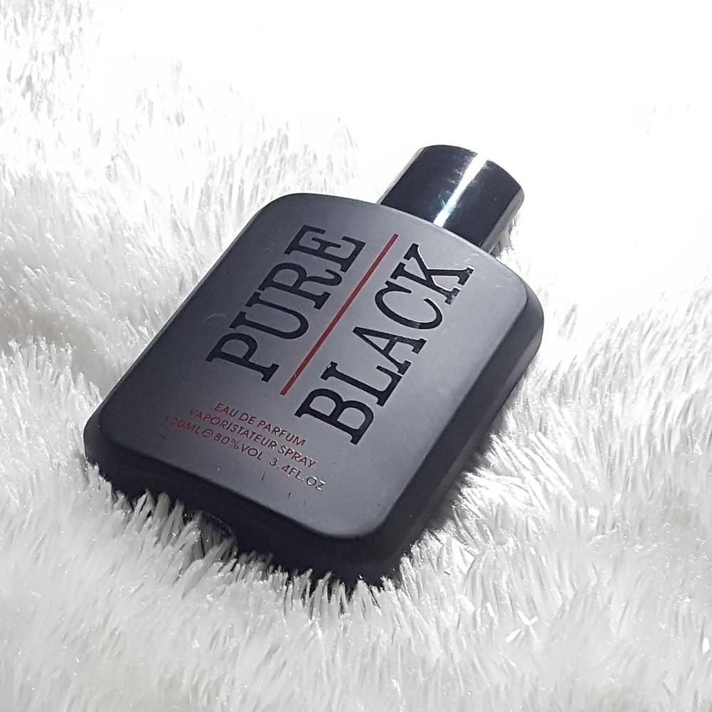 PURE BLACK EAU DE PARFUM 100 ML MENS PERFUME