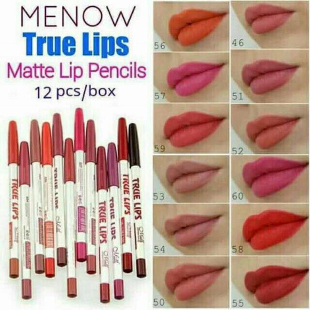 ✅qf True Lips Lip Liner 12pcs-Edison Online Shop By Edison Online Shop.