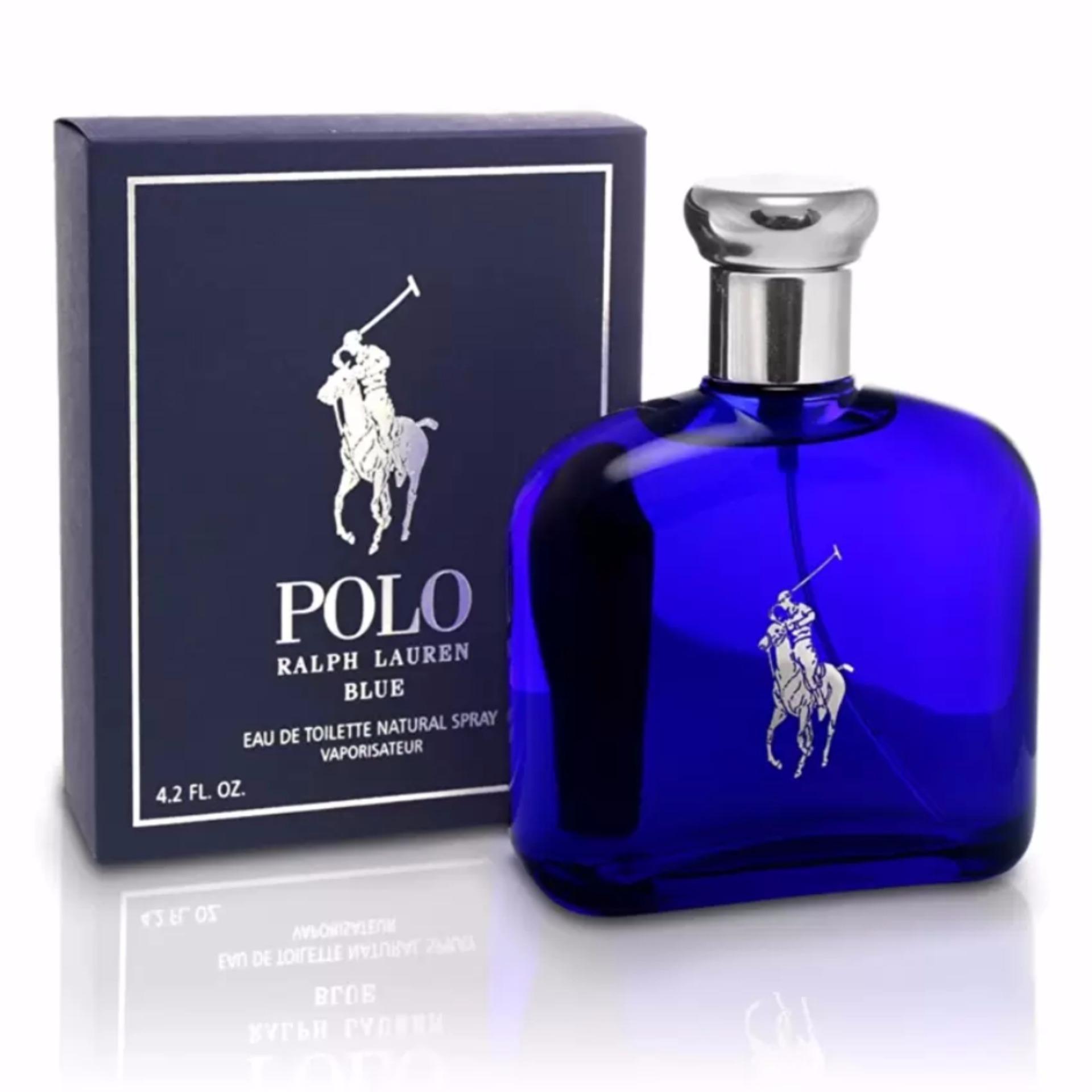 Ralph Lauren Polo Blue Eau De Toilette for Men 125ml - thumbnail