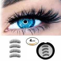 Rodeal Dual Magnetic False Eyelashes - Ultra-thin 0.2mm Fake Lashes- 3D Handmade Reusable Eyelashes Extension - Soft Natural Look Fiber Eyelashes, No Glue, Ultra Lightweight Long - intl Philippines