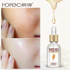 ROREC White Rice Serum Natural & Organic Reduces Wrinkles & Lightens Dark Spots Dark Circle Fine Line & Sun Damage Corrector - intl Philippines