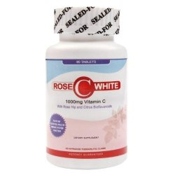 Rose C White 1000mg  Tablets Bottle    of 60