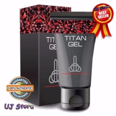 Russian Authentic Titan Gel For Men 50grams (lubricant Gel For Men) By Uj Store.