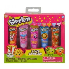 Shopkins 5 Pack Lip Gloss Set - intl Philippines