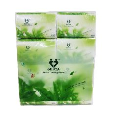 Shuta Green Tea Facial Tissue 450 Sheets By 8s Buy 2 Get 1 Pack For Free Philippines