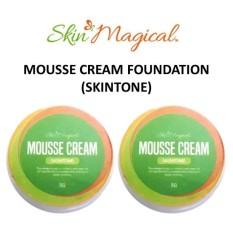 Skin Magical Mousse Cream Foundation 5g Bundle of 2 (Skin Tone) Philippines