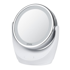 Makeup Mirror 1X / 10X Magnification Vanity Mirror with Lights Double-Sided LED Cosmetic Mirror with 360 degree Rotation for Beauty , Travel, Skin Care - intl Philippines