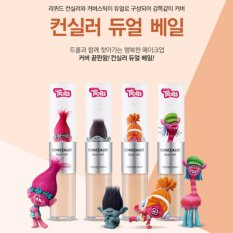 THE FACE SHOP Concealer Dual Veil Trolls Edition 4.3g/3.8g (#N203) - intl Philippines