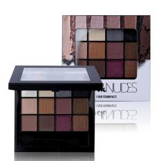 The Rock Nude 12 Colors Matte Eyeshadow Palette Philippines