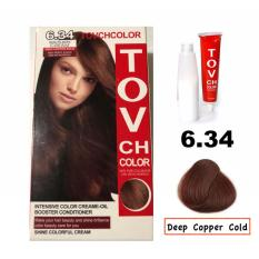 Buy sell cheapest tov hair color best quality product deals tov ch hair color 634 with plants cream treatment deep copper gold solutioingenieria Choice Image