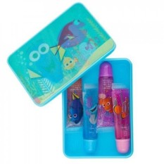 Townley Girl Disney Finding Dory Sparkly Lip Gloss For Girls, 4 pack with Decorative Carrying Tin - intl Philippines