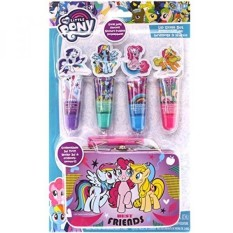 TownleyGirl My Little Pony 4 Pack Lip Gloss with Tin, 5 CT - intl Philippines
