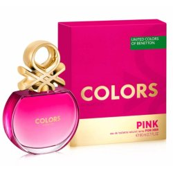 United Colors of Benetton Colors Pink for Her
