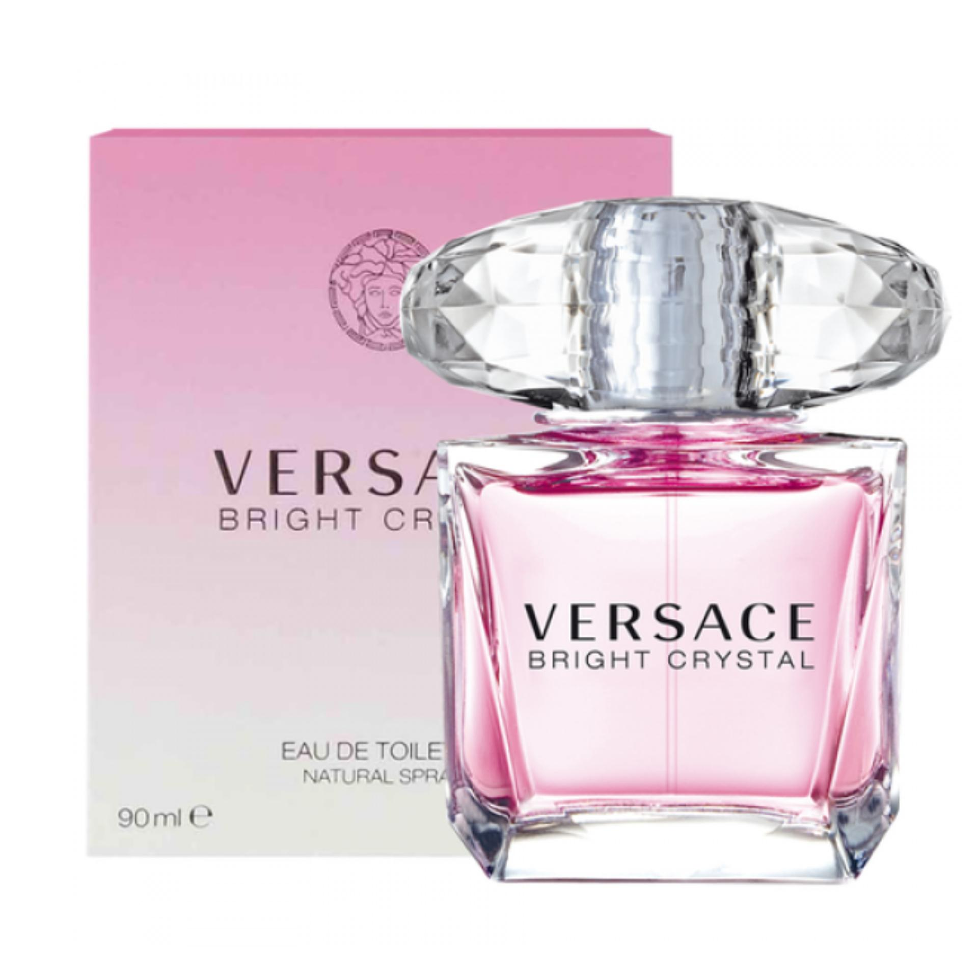 Versace Bright Crystal Eau De Toilette for Women 90ml product preview, discount at cheapest price