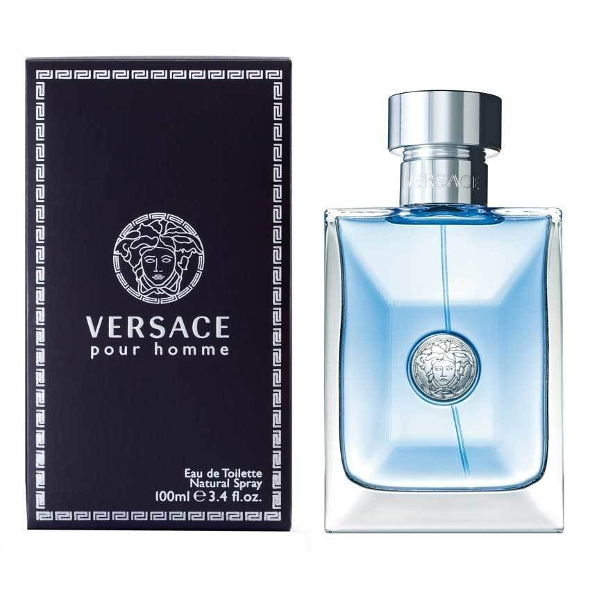 Versace Pour Homme Eau de Toilette for Men 100ml