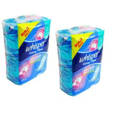 Whisper Cottony Clean Non-Wing 20 pads 2's 293433