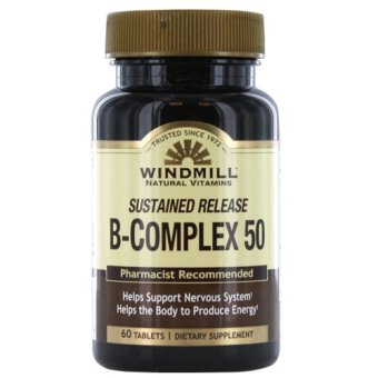 Windmill B-Complex Sustained Release Tablets Bottle of 60