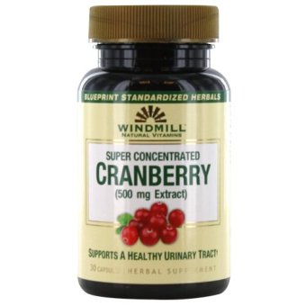 Windmill Cranberry 500mg Capsules Bottle of 30