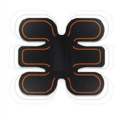 Wireless Smart EMS Stimulator Abdominal Muscle Trainer Exerciser ABS Body Massager Intensive Training Fitness Slimming Machine