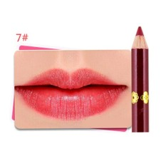 Women 12 Color Waterproof Makeup Lip Pencil Matte Velvet Lip Liner Pen G - intl Philippines