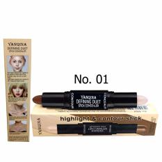 YANQINA Defining Duet Stick Concealer Highlight and Contour No. 01 (Ivory) Philippines