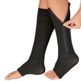 Soft Zip Socks Anti-fatigue Compression Socks Leg Support Medical Socks Unisex Comfortable Relief Underwear & Sleepwears
