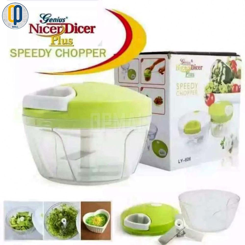 Speedy Chopper Nicer Dicer (genius) By Op Mall.