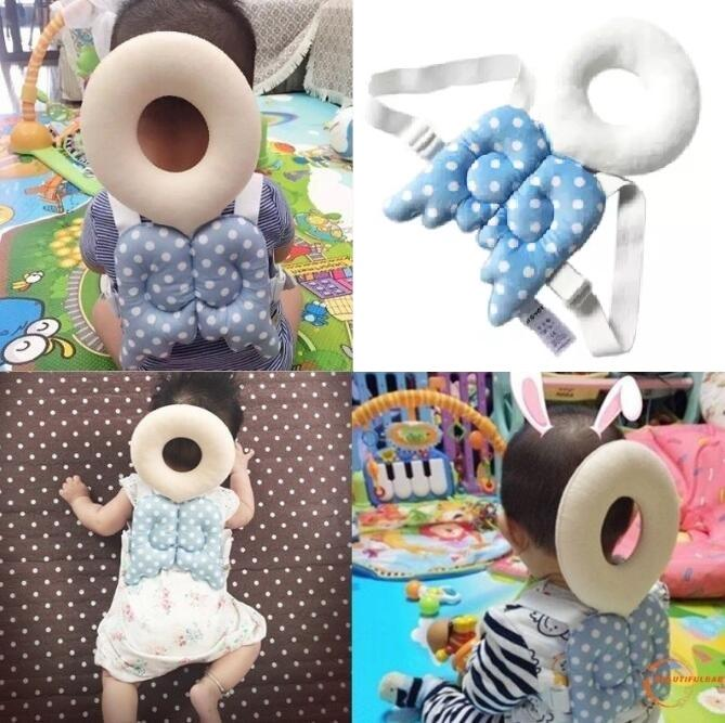 Baby Head Protector Baby Pillow Baby Head Protector Pillow Guard Baby Headrest Toy Safety Head Protector Baby Anti Head Bang Pillow By Ef-Fashion.