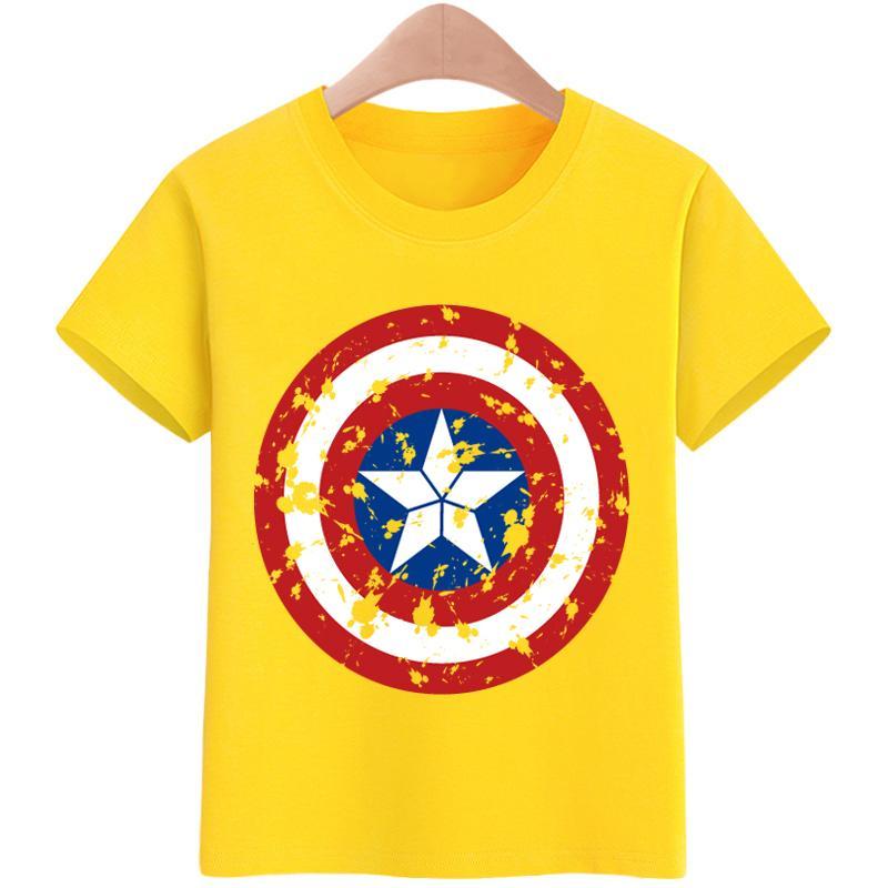5c0b19bc 3-16yrs Tshirt for kids T-shirt Boy's T-shirt Girls Cartoon Pattern