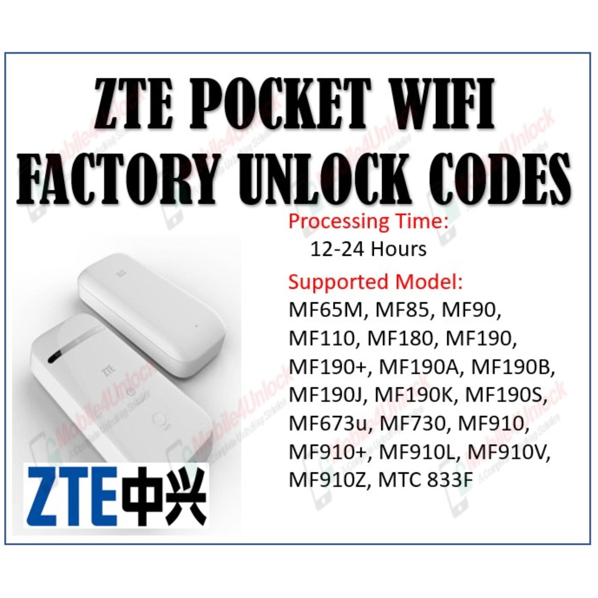 🏆 Unlock code for zte pocket wifi | How to unlock ZTE ZTE