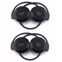 503 Mini Bluetooth Headset Set of 2 (Black)