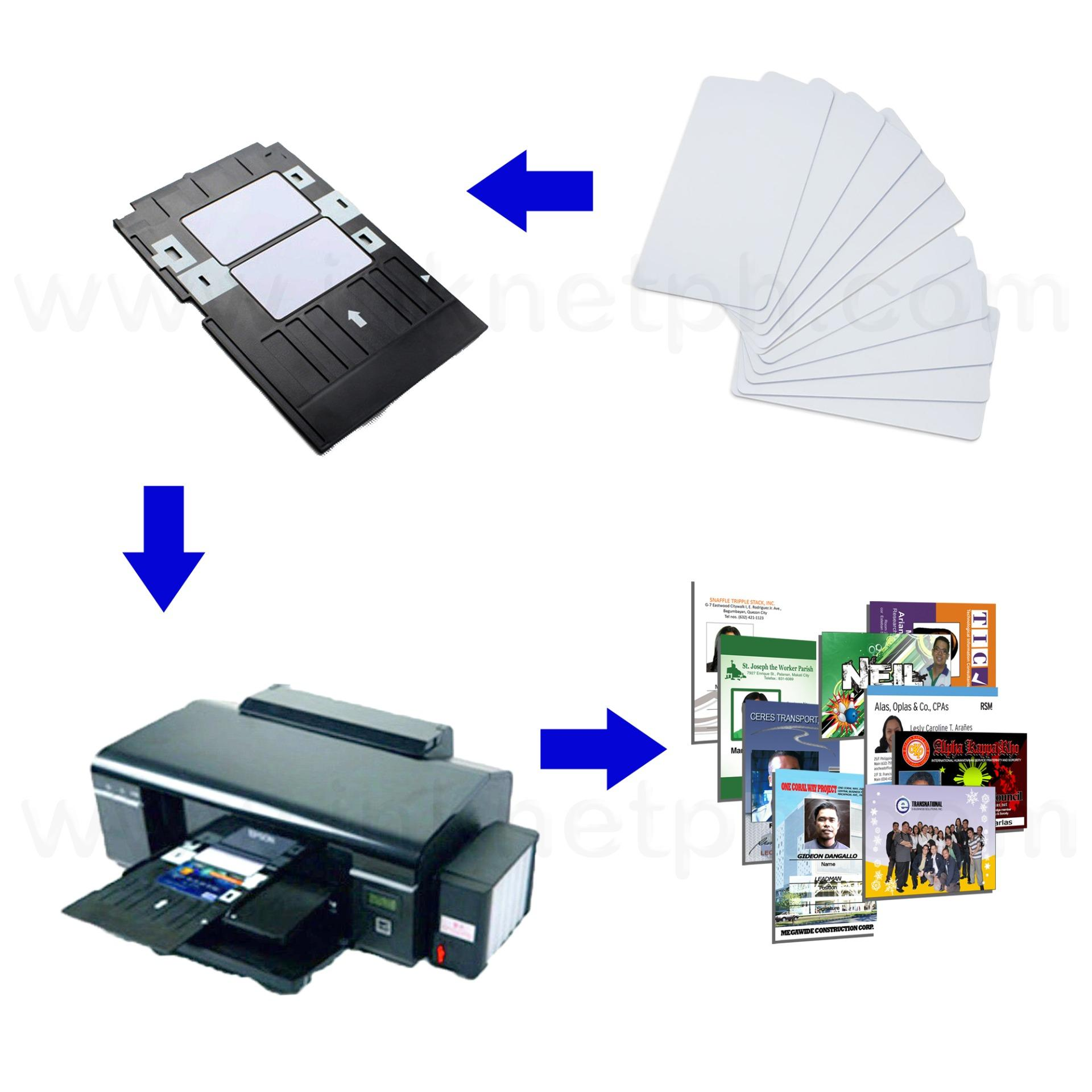 PVC Tray for Epson L805 for Printing of School Company Membership ID Cards