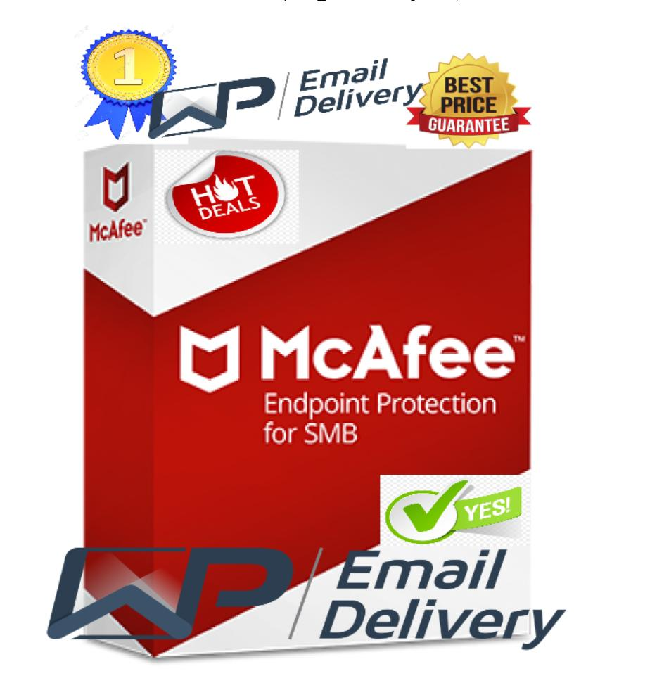 McAfee Endpoint Security 2019 Antivirus (Lifetime Activated)