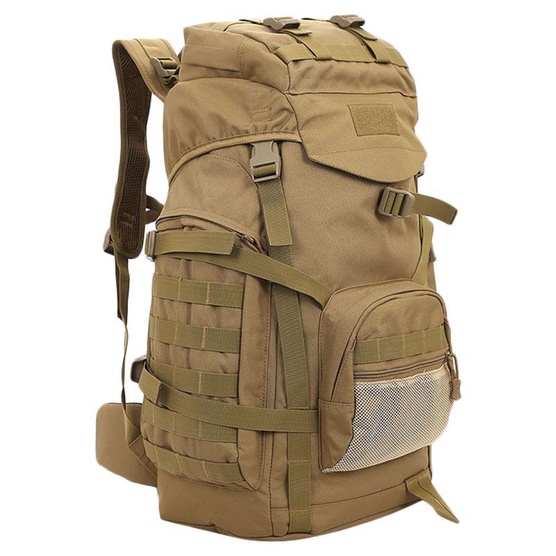 60L Camping Rucksack Bag Large Waterproof Backpacks Hiking Outdoor Bags