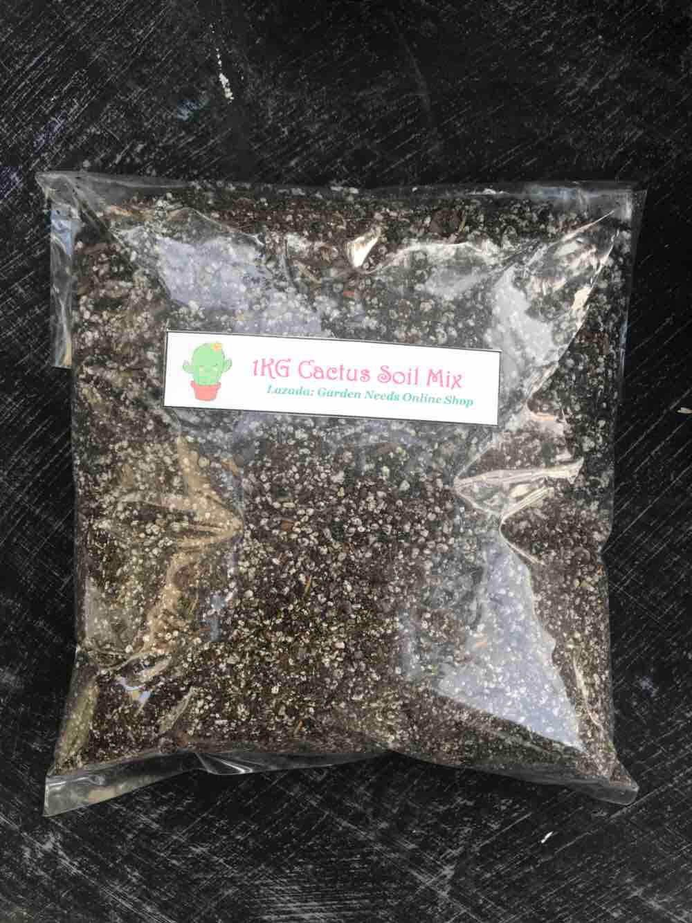 1kg Ready To Use Cns (cactus And Succulents) Soil By Garden Needs Online Shop.
